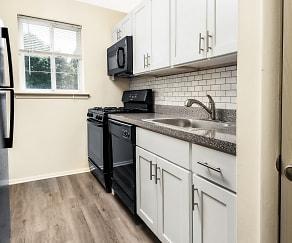 Kitchen, Sweetbriar Apartments