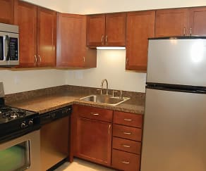 Kitchen, Sherry Lake Apartments