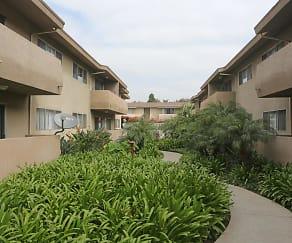 Building, Holiday Garden Apartments