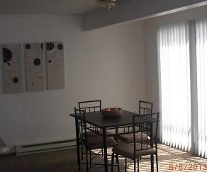 Dining Room, Valley 206 Apartments
