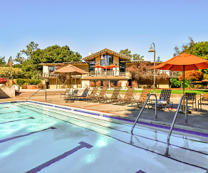 Pool, Oak Creek Apartments