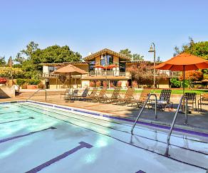 Pool, Oak Creek Apartments