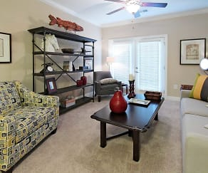 Living Room, Arbors At Fort Mill Apartments