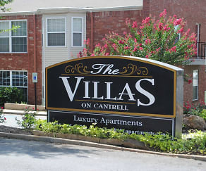 Building, The Villas on Cantrell