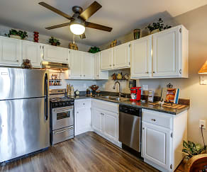 Kitchen, Casa Escondida 55+