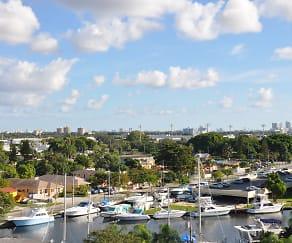 Views of the Miami River, Miami Riverfront Residences