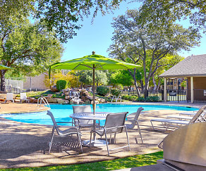 Pool, Communities of Bent Tree
