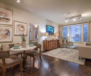 Dining Room, Park Avenue Lofts