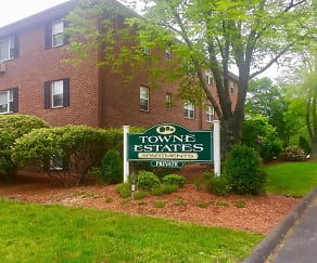 Community Signage, Towne Estates Apartments