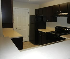 Kitchen, Rosewood Place Apartments