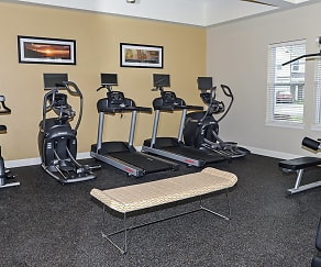 Fitness Weight Room, Union Square Apartments