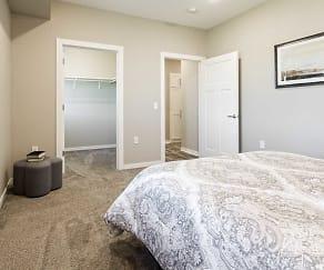 Bedroom, Celtic Crossing Apartments 55+