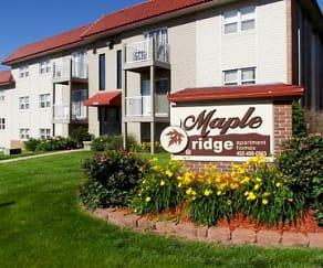 Community Signage, Maple Ridge Apartments