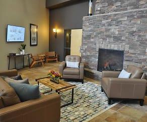 Living Room, Skaff Apartments - Fargo