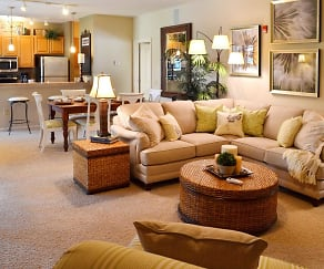 Living Room, The Park Apartment Homes