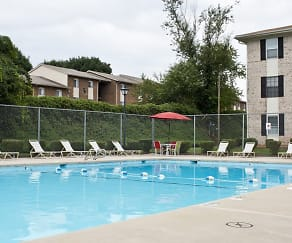 Pool, Chesterfield Apartments