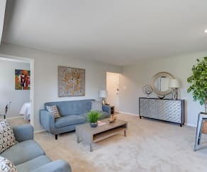 Living Room, The District at Forestville