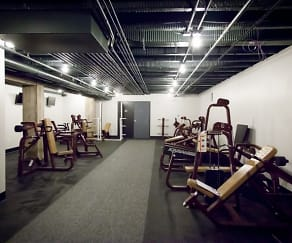 Fitness Weight Room, Democrat Lofts