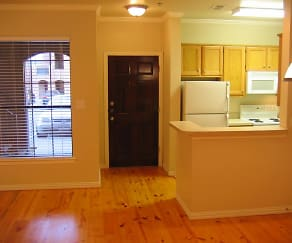 Kitchen, Melrose Apartments