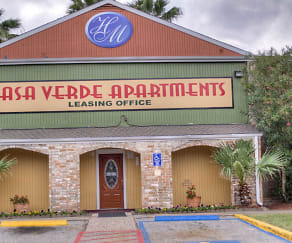 Community Signage, Casa Verde Apartments