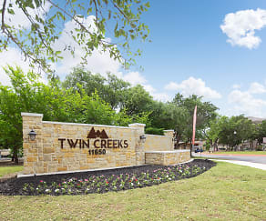 Community Signage, Twin Creeks At Alamo Ranch Apartments