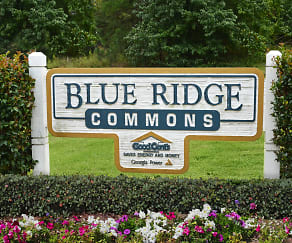 Community Signage, Blue Ridge Commons