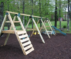 Playground, Riverview Apartments