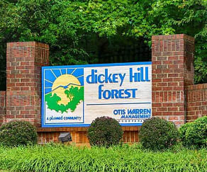 Community Signage, Dickey Hill Forest