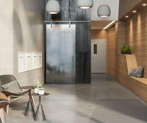 Foyer, Entryway, Edge Lofts