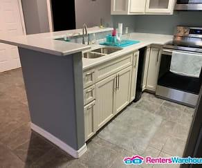 Kitchen, 4107 Medical Dr Apt 1106
