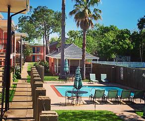 Pool, Coral Bay Apartments