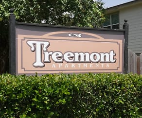 Community Signage, Treemont Apartments