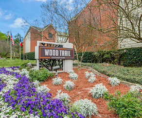 Community Signage, Wood Trail Apartments