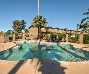 Pool, Camelback Courtyard