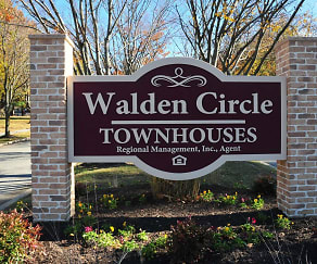 Community Signage, Walden Circle Townhouses