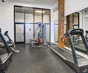 Fitness Weight Room, Union Penn Lofts