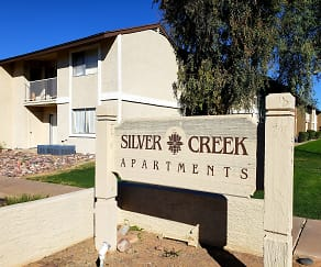 Community Signage, Silver Creek Apartments