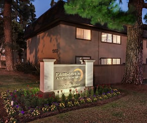 Community Signage, Fairhaven Apartment Homes