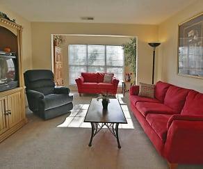 Living Room, Century Oaks Apartments
