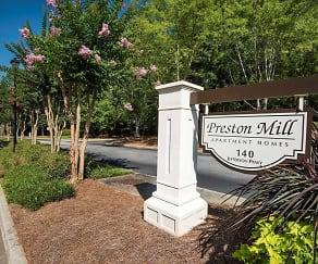 Community Signage, Preston Mill
