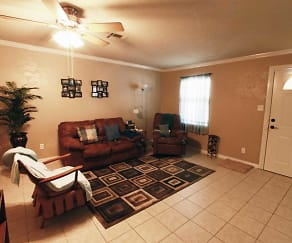 Living Room, Paragon Apartments