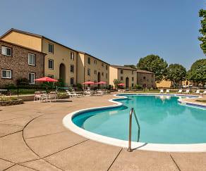 Pool, Rosedale Apartments