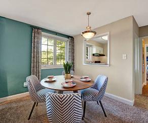 Dining Room, Braddock Lee Apartments