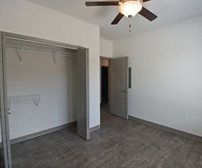 Bedroom, Trail's Bend Apartments and Townhomes