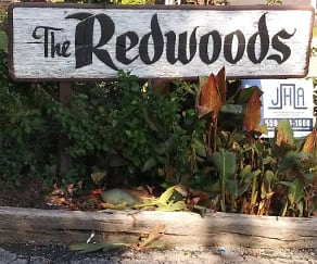 Community Signage, Redwoods Apartments
