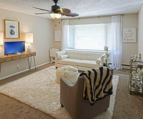 Living Room, Wayzata Lake Apartments