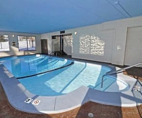 Pool area, Wentworth Apartments