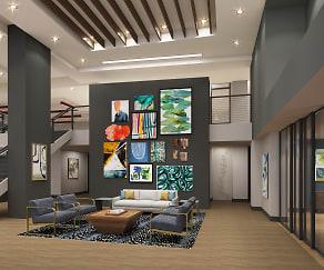 Interior image of Clubhouse at Kestra Apartments, Kestra Apartments