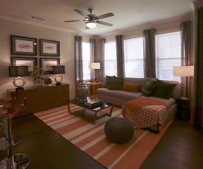 Living Room, Ladera Apartments
