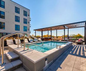 Pool, Revel Apartments